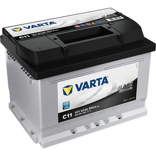Varta Black Dynamic C11 553 401 050 (53 А·ч)