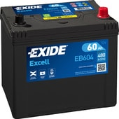 Exide Excell EB604 (60 А/ч)